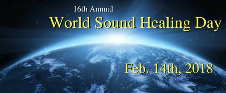 world sound healing day